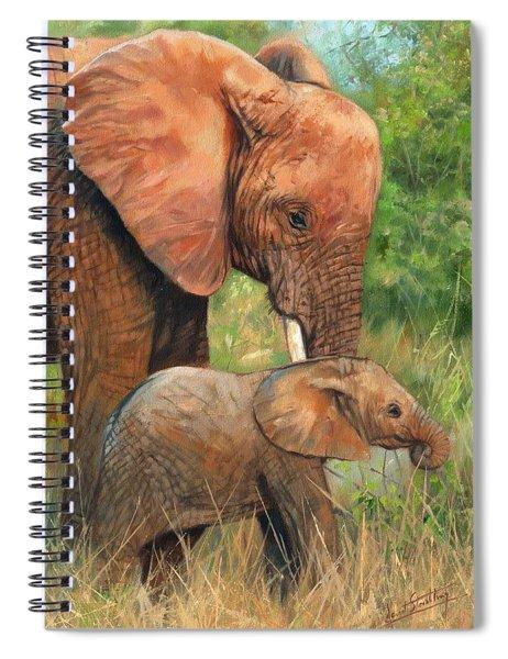 Mother Love 2 Spiral Notebook