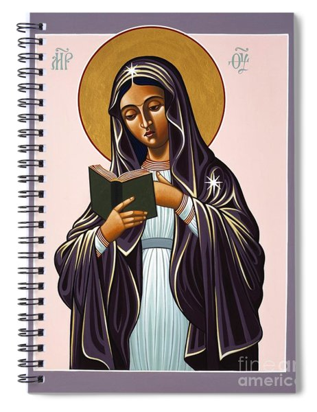 Mother Of The Incarnate Word 071 Spiral Notebook