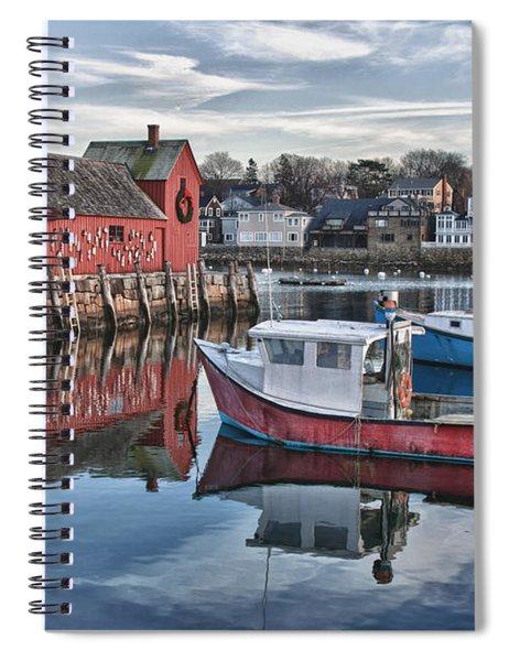 Motif 1 Sky Reflections Spiral Notebook