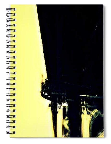 Motion Blur 2 Spiral Notebook
