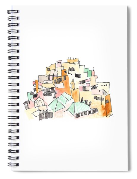 Moulay Idriss Spiral Notebook