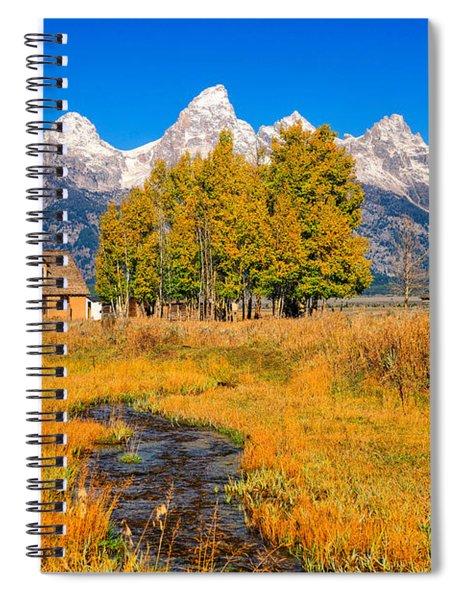 Moulton Homestead Spiral Notebook
