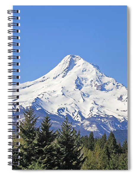Mount Hood Mountain Oregon Spiral Notebook
