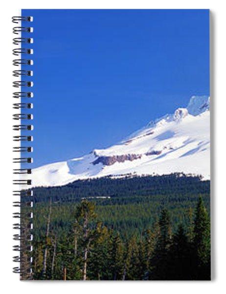 Mount Hood Or Usa Spiral Notebook