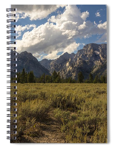 Mount Moran - Grand Teton National Park Spiral Notebook