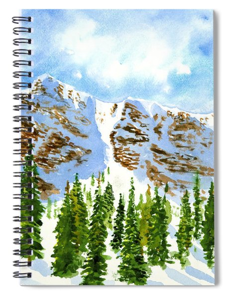 Mount Ogden Spiral Notebook