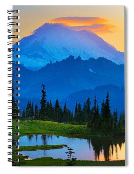 Mount Rainier Goodnight Spiral Notebook