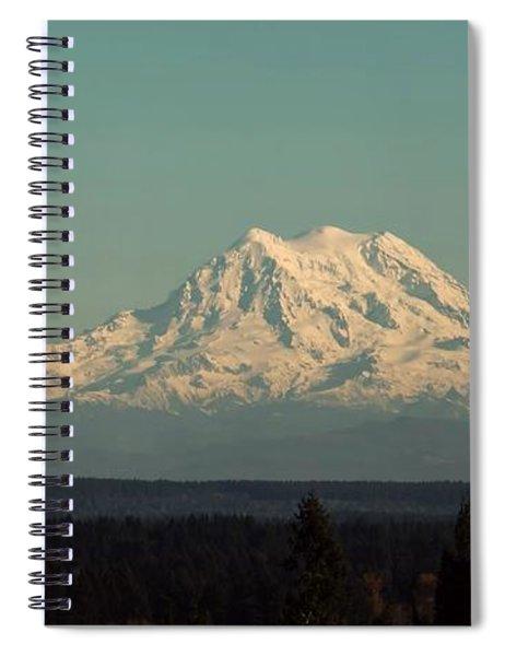 Mount Rainier Spiral Notebook