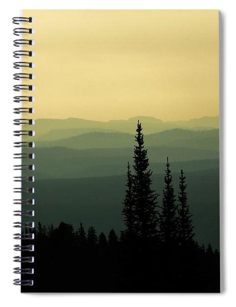 Mount Washburn Mist Spiral Notebook