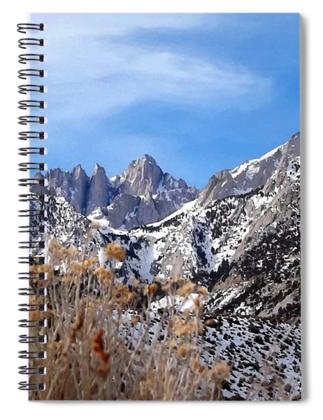 Mount Whitney - California Spiral Notebook