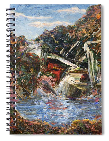 Mountain Pool Spiral Notebook