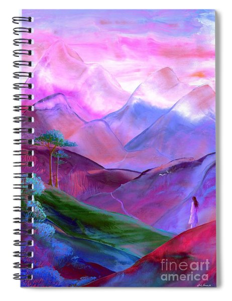 Mountain Reverence Spiral Notebook