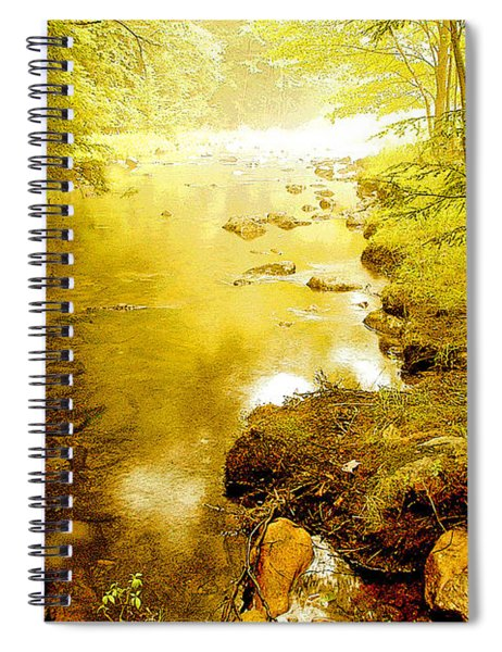 Mountain Stream Summer Spiral Notebook