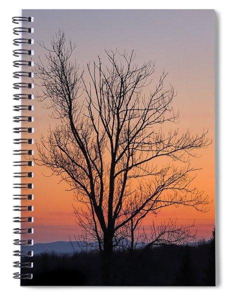 Mountain Sunset 2 Spiral Notebook