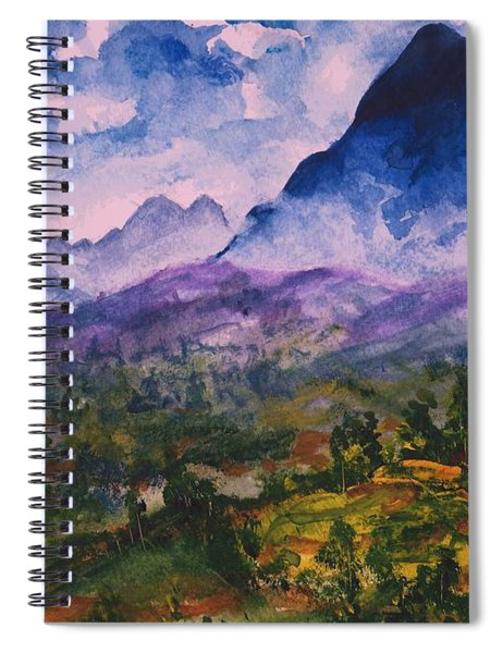 Mountains Of Pyrenees  Spiral Notebook