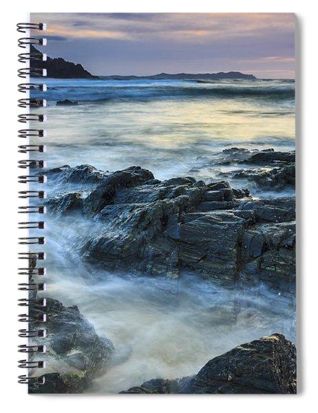 Mourillar Beach Galicia Spain Spiral Notebook