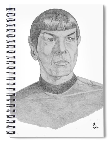Mr. Spock Spiral Notebook