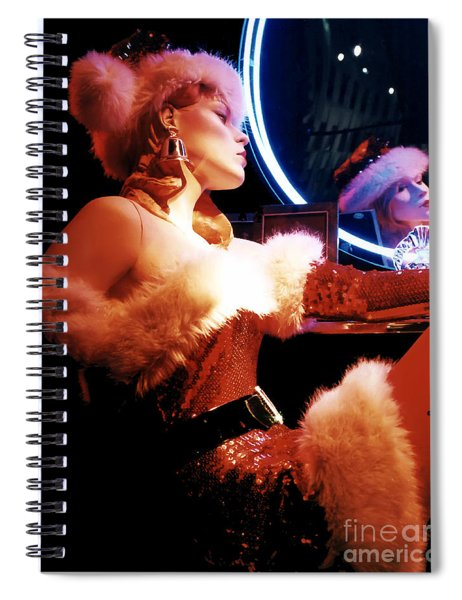 Mrs. Claus Spiral Notebook
