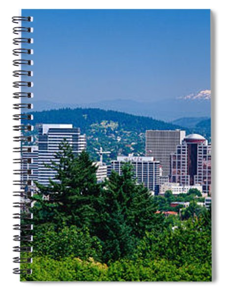 Mt Hood Portland Oregon Usa Spiral Notebook