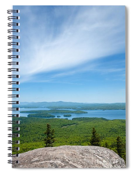 Mt Major View Spiral Notebook