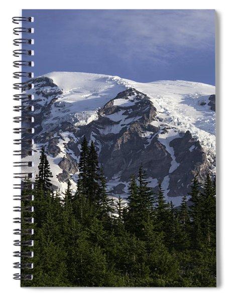 Mt Rainier Landscape Spiral Notebook