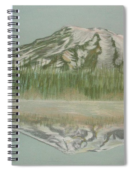 Mt Rainier Spiral Notebook