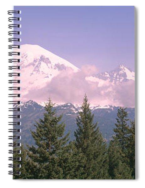 Mt Ranier Mt Ranier National Park Wa Spiral Notebook