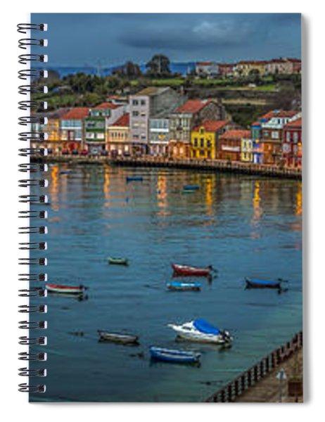 Mugardos Panorama Galicia Spain Spiral Notebook