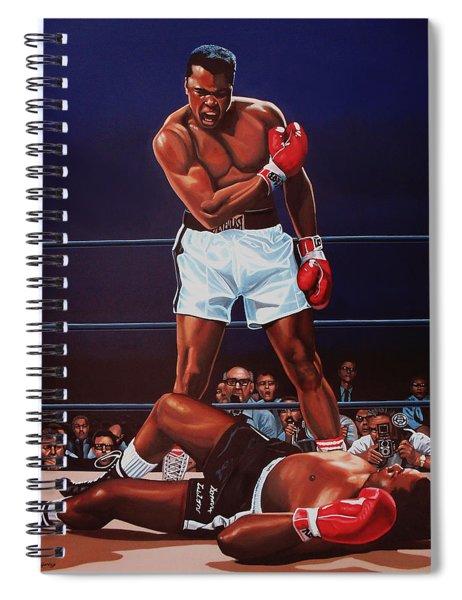 Muhammad Ali Versus Sonny Liston Spiral Notebook