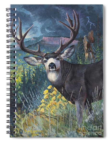 Mulie Storm Spiral Notebook