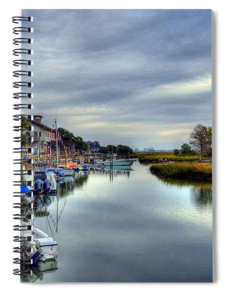 Murrells Inlet Morning 5 Spiral Notebook