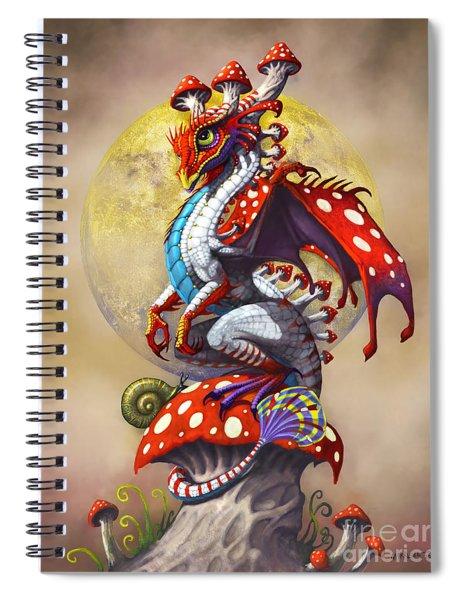 Mushroom Dragon Spiral Notebook