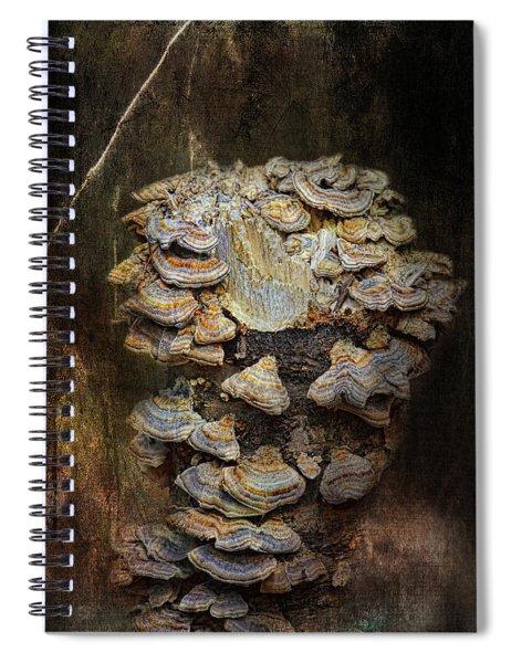 Mushroom Goddess Spiral Notebook