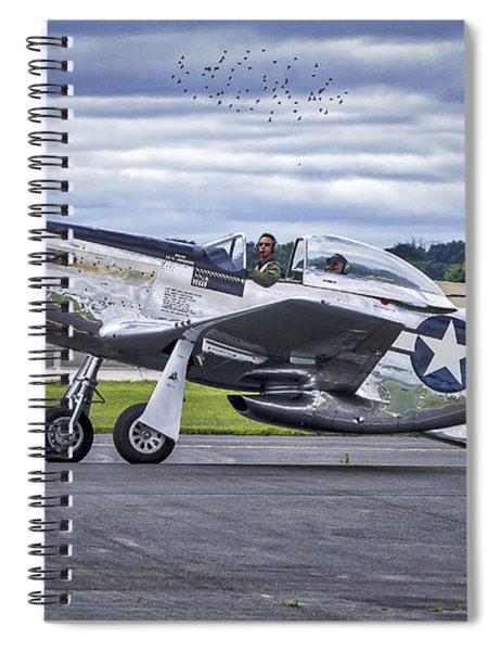 Mustang P51 Spiral Notebook
