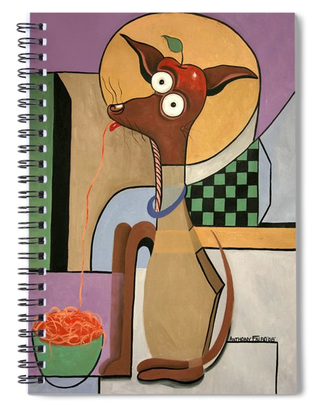 My Apple Head Chihuahua Spiral Notebook