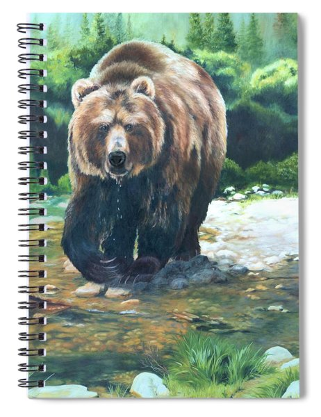 My Bear Of A Painting Spiral Notebook