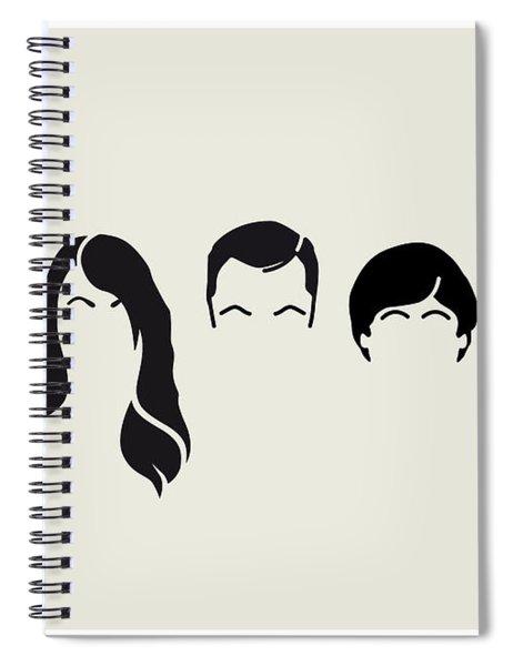 My-big-bang-hair-theory Spiral Notebook