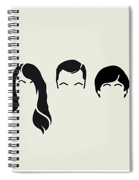 My-big-bang-hair-theory Spiral Notebook