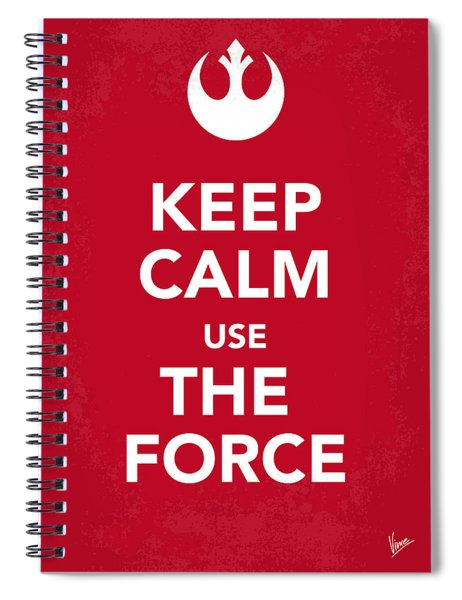 My Keep Calm Star Wars - Rebel Alliance-poster Spiral Notebook
