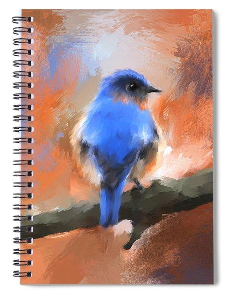 My Little Bluebird Spiral Notebook