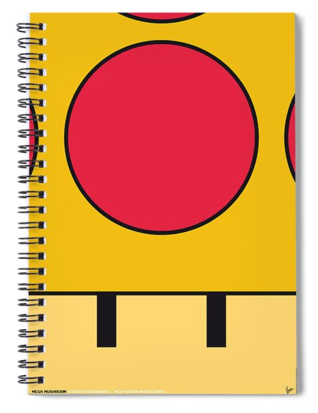 My Mariobros Fig 05c Minimal Poster Spiral Notebook