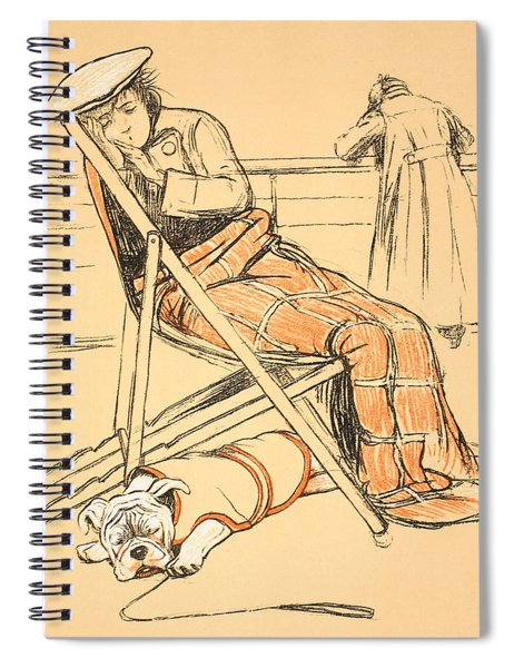My Miserable Mistress Spiral Notebook