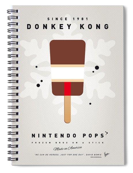 My Nintendo Ice Pop - Donkey Kong Spiral Notebook