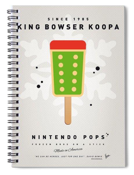 My Nintendo Ice Pop - King Bowser Spiral Notebook