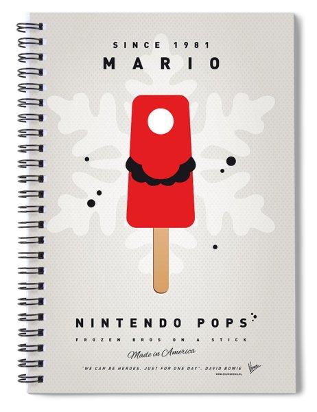 My Nintendo Ice Pop - Mario Spiral Notebook