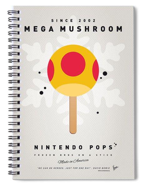 My Nintendo Ice Pop - Mega Mushroom Spiral Notebook