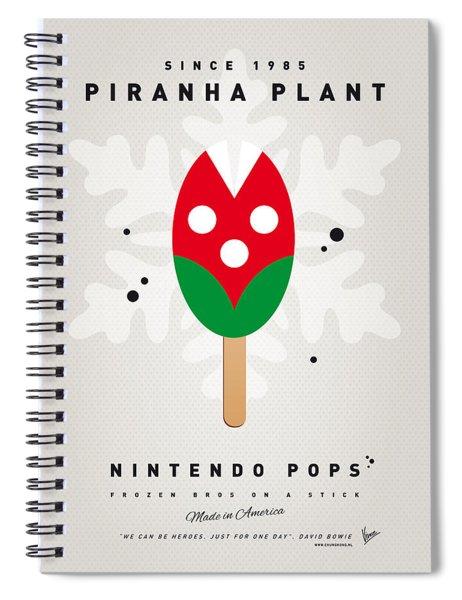 My Nintendo Ice Pop - Piranha Plant Spiral Notebook