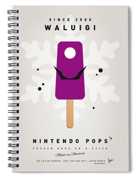 My Nintendo Ice Pop - Waluigi Spiral Notebook