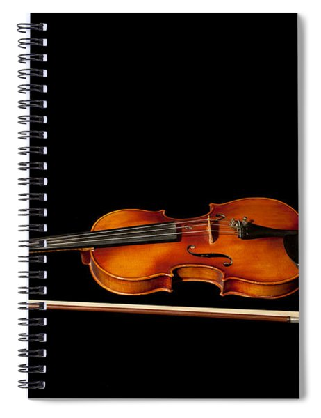 My Old Fiddle And Bow Spiral Notebook