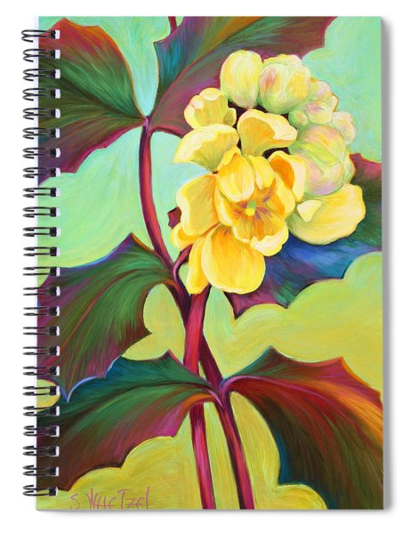 My Oregon Grape Spiral Notebook